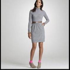 J. Crew sweater dress J. Crew sweater dress.  Wool, Nylon, Cashmere blend. Belt not included. J. Crew Dresses