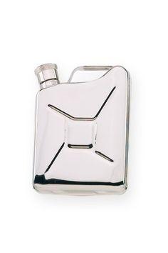 Wilouby 6 Oz. Gas Tank Flask - groomsmen gift