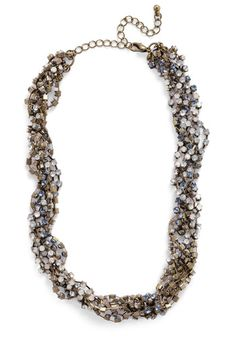 13. Matching modcloth accessory - intertwine and shine necklace. #modcloth #wedding