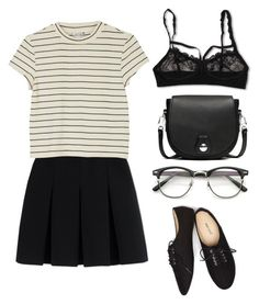 """Untitled #175"" by stefaniareyna ❤ liked on Polyvore featuring Hanky Panky, Alexander Wang, Wet Seal, rag & bone and Monki"