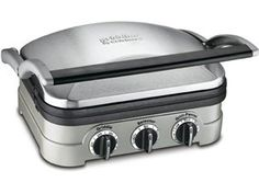 12.5x9.5-in. Electric Griddler by Cuisinart - because Mark likes to make leftovers into sandwiches! #holidaycooking