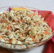 Ramen noodle salad is one of those highly requested pot luck recipes. Inexpensive ramen noodles make a wonderful addition to this salad. Oriental Coleslaw Salad Recipe, Asian Coleslaw, Oriental Salad, Asian Slaw, Chinese Coleslaw, Coleslaw Recipes, Ramen Recipes, Ramen Coleslaw, Coleslaw Dressing