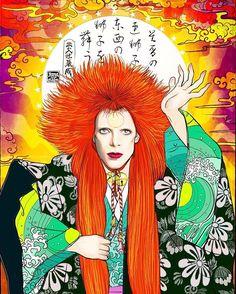 Renjishi of David Bowie