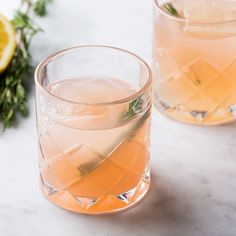 The rosemary-infused vodka in this drink may sound fancy, but it couldn't be easier to make. Start it a day before you want to make the drink.