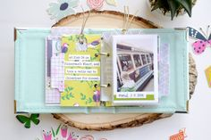 Create a darling mini album in 20 minutes or less with the Instax Album from We R Memory Keepers. Mini Albums, Mini Scrapbook Albums, Instax Mini Album, Spring Break Trips, Scrapbooking, We R Memory Keepers, Layout Inspiration, Mini Books, Arts And Crafts