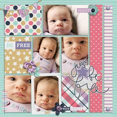 Wild Horses by Tickled Pink Studio Layout by Krista Lund