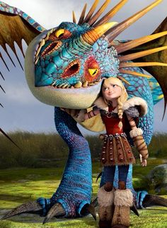 Hi! My name is Fearless Astrid Hofferson from the Hairy Hooligan tribe of Berk. My dragon is a Deadly Nadder named Stormfly. My boyfriend is Hiccup Horendous Haddock III, future chief of Berk. He has a Night Fury named Toothless. I hope to get to know all of you at the Academy!