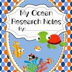 In this research book students can record what they have learned about the ocean habitat and the animals that make their home in it.  This booklet ...