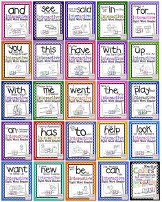 cut and paste sight word books Preschool Sight Words, Teaching Sight Words, Sight Word Practice, Sight Word Activities, Word Games, Literacy Activities, Kindergarten Reading, Teaching Reading, Learning