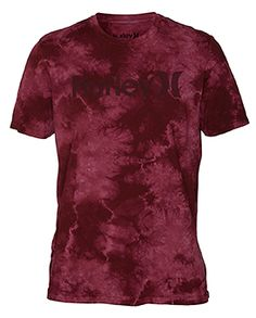 ONE   ONLY LIGHTNING WASH MENS PREMIUM T-SHIRT Hurley 39dd5a63950