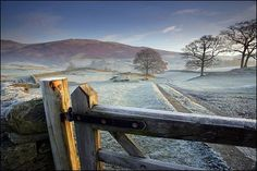 Dawn frost in the Lake District, Cumbria, England (Commended - Classic view category) - Darren Ciolli-Leach.