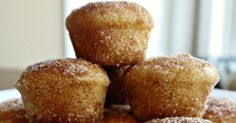 This divine little dessert is a muffin, a donut, and a snickerdoodle rolled into one