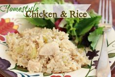 Chicken and Rice. Making this for supper tonight