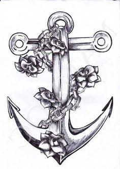 Significado de Tatuagem de Âncora com Laço e para Casal