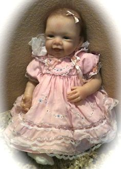 """Ashton Drake Doll Collectors:  """"Pretty In Pink Doll"""" with   Original Box and Original Papers!"""