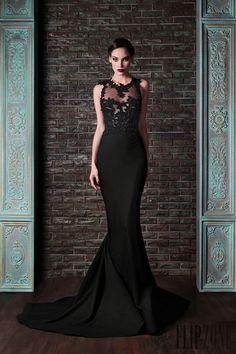 Rami Kadi - Alta Costura - «Le gala des mystères», O-I 2013-2014 - http://es.flip-zone.com/fashion/couture-1/independant-designers/rami-kadi-4295