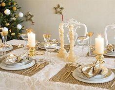adorable christmas table decoration