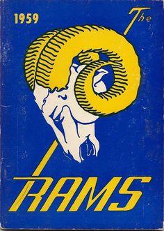 La Rams Football, Nfl Rams, Football Art, Football Memes, Vintage Football, Nfl Logo, Team Logo, Nfc West, Nfl Sports