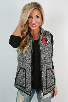 University Of Louisville Herringbone Vest