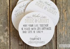 WEDDING WISHES COASTER PRINTABLE What a fun way to gather wedding wishes from your guests! These DIY wedding coasters are such a great way to add a personal touch to your reception or bridal. Invitation Paper, Printable Wedding Invitations, Diy Invitations, Wedding Stationery, Funny Wedding Cards, Wedding Wishes, Wedding Notebook, Wedding Guest Book, Bouquet Champetre