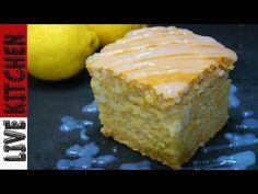 Συνταγάρα!! Το πιο αφράτο και ξεχωριστό Κέικ Λεμονιού (Νηστίσιμο)Vegan lemon Cake - YouTube Vegan Lemon Cake, Kitchen Living, Cake Cookies, Cornbread, Vanilla Cake, Cheesecake, Food And Drink, Pie, Sweets