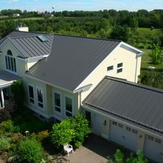 Best Images Of Houses Of Metal Roofs Charcoal Gray Metal Roof 400 x 300