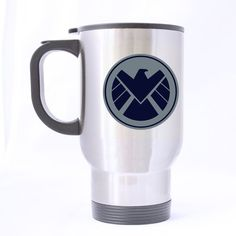 Shield Agents Marvel Eagle Customized Custom Design Travel Mug Sports Bottle Coffee Mugs Silver 14 OZ Office Home Cup Two Sides Printed >>> Tried it! Love it! Click the image. : home diy kitchen