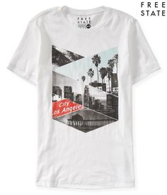 aeropostale mens free state city of los angeles graphic t shirt #Aeropostale #GraphicTee