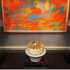 Warhol Camouflage cake I baked for my husband's @guyhepner birthday! #warhol…