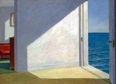 Edward Hopper. Stanze dal mare, 1951. Olio su tela. Yale University Art Gallery, New Heaven, CT