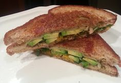 What Will Ate: 31: Avocado, Swiss, Arugula, and Goat Grilled Cheese Sandwiches