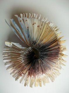 Louisa Boyd ~ Flock, 2009 (artist's book, watercolour)