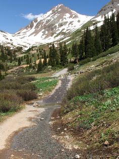 Ouray, Colorado - Yankee Boy Basin Jeep Tour  On of my most favorite places to 4x4 with our boys