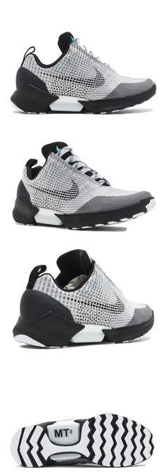 Basketball: Nike Hyperadapt 1.0 Shoes 843871 002 Metallic Silver Black White - Mens Size 10 -> BUY IT NOW ONLY: $1100 on eBay!