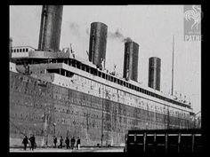 original newsreel following the sinking of the Titanic. special guest appearance by Guglielmo Marconi.