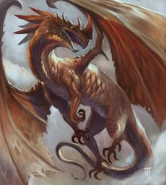 Red Dragon by Grav3soul.deviantart.com on @DeviantArt