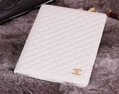 Elegant Plaid Pattern Leather Case for Ipad Mini Retina Ipad Air Ipad 2/3/4 with Chanel Logo http://www.oz3ds.com/product.php?id_product=393