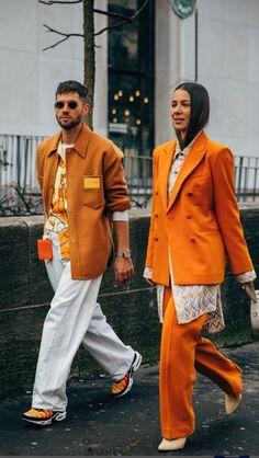 Vogue Fashion Week, Fashion News, Winter Fashion Outfits, Autumn Winter Fashion, Seoul Fashion, Paris Fashion, Stylish Couple, Fashion Couple, Couple Outfits