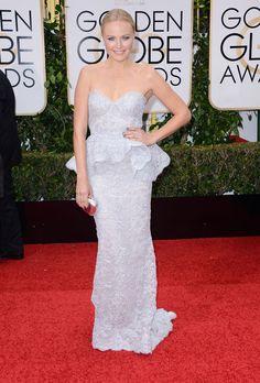 Malin Akerman au Golden Globes 2016
