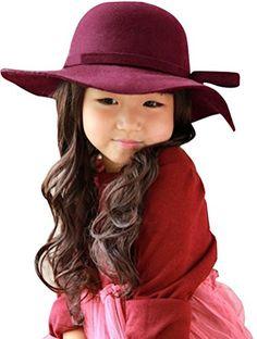 Kids Girl's Vintage Dome Wool Felt Bowler Cap Floppy Hat ... https://smile.amazon.com/dp/B014DYT0WW/ref=cm_sw_r_pi_dp_x_hEhaybGP6YQ0H