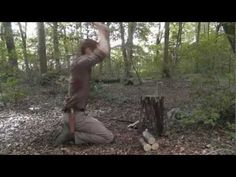 Bushcraft and Survival How to use an axe