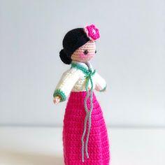 East Indian Doll: Sanjana (Darling Dolls International Series) - Sweet Softies | Amigurumi and Crochet