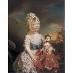 PORTRAIT OF CHARLOTTE AUGUSTA MATILDA, attributed to Johann Zoffany R.A. 1733-1810, Sotheby's