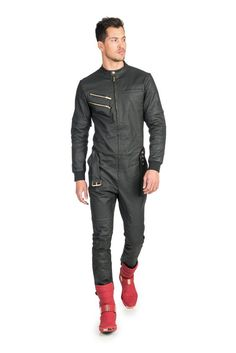 One piece front zip jumpsuit Mens Fashion, Fashion Outfits, Fashion Clothes, Jeans Overall, Designer Jumpsuits, T Dress, Bib Overalls, Tulum, Onesies