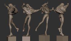 ArtStation is the leading showcase platform for games, film, media & entertainment artists. Human Sculpture, Sculpture Art, 3d Character, Character Design, Character Sheet, Character Turnaround, Sculpting Tutorials, Digital Sculpting, Sketches Of People
