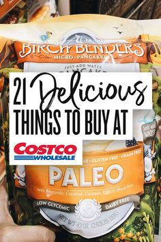 21 Delicious Best Buys at Costco for all things FOOD! From tasty frozen finds, to fresh produce - Costco has it all. Get your grocery list ready for your next trip to our favorite wholesale store! Best Costco Food, Costco Party Food, Best Deals At Costco, Costco Appetizers, Costco Shopping List, Costco Finds, Costco Savings, Costco Snacks, Vegan Shopping