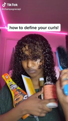 Curly Hair Routine, Curly Hair Tips, Curly Hair Care, Hair Care Routine, Curly Hair Styles, Black Girl Curly Hairstyles, Black Curly Hair, Cute Curly Hairstyles, Natural Hair Care Tips