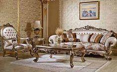 Classic Sofa Sets - Luxury Seat Models - Turkish Sofa Sets Victorian Living Room, Living Room Modern, Living Room Designs, Living Room Decor, Royal Furniture, Luxury Furniture, Furniture Design, Art Furniture, Furniture Stores