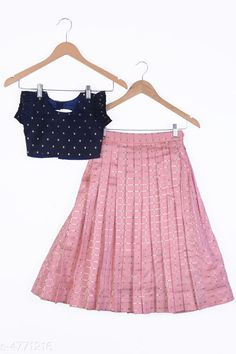 Checkout this latest Lehanga Cholis Product Name: *Doodle Classy Kid's Girl's Lehanga Choli Set* Sizes:  0-1 Years, 1-2 Years, 2-3 Years, 3-4 Years, 4-5 Years, 5-6 Years, 6-7 Years, 7-8 Years, 8-9 Years, 9-10 Years, 10-11 Years, 11-12 Years, 12-13 Years, 13-14 Years, 14-15 Years, 15-16 Years Country of Origin: India Easy Returns Available In Case Of Any Issue   Catalog Rating: ★4.3 (2136)  Catalog Name: Doodle Classy Kid'S Girl'S Lehanga Choli Set Vol 17 CatalogID_694768 C61-SC1137 Code: 238-4771216-5232