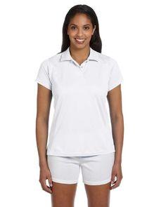 Ladies' Polytech Polo, White, X